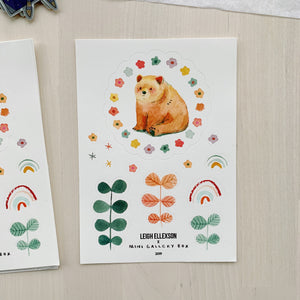 STICKER SHEET - LEIGH ELLEXSON