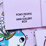 NOTEBOOK - PONY PEOPLE