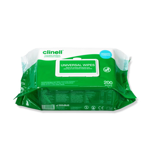 Clinell Universal Wipes 200 (1200 pieces)