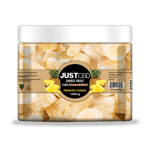 Just CBD Dried Fruit 1000mg Jar