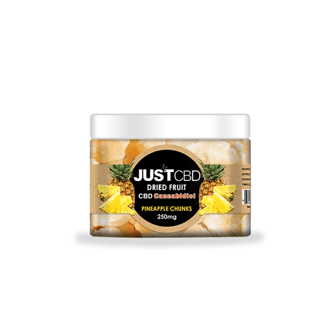 Just CBD Dried Fruit 250mg Jar