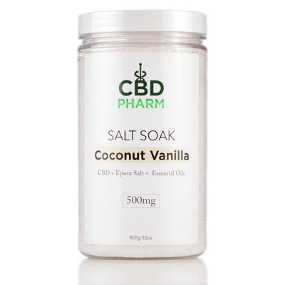CBD Pharm Salt Soak Coconut Vanilla
