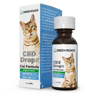 Green Roads CBD Drops - Cat