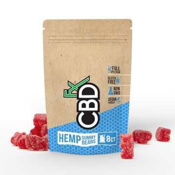 CBDfx 40mg Full Spectrum Organic Hemp Gummy Bears