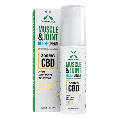 Green Roads 300MG CBD Muscle and Joint Relief Cream