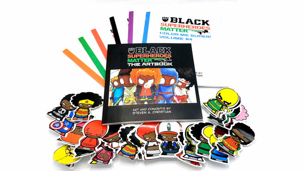 Black Superheroes Holiday Bundle