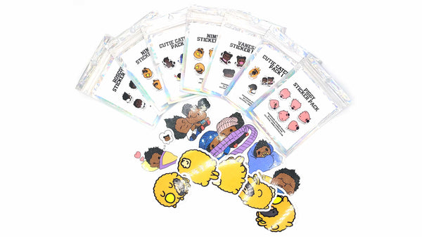 Cute Sticker Holiday Bundle