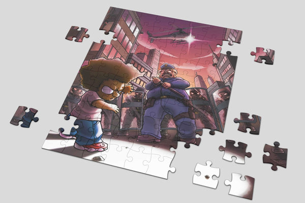 Crash Projekt Jigsaw Puzzle