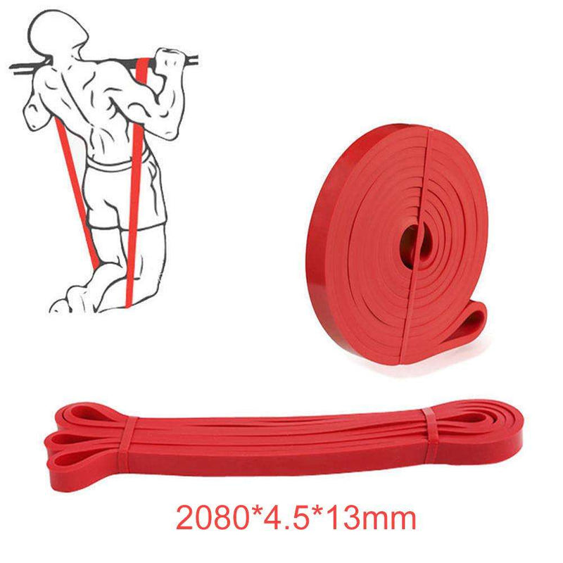 208cm Pull Up Exercise Fitness Resistance Stretch Yoga Fitness Workout Band, Snapfitnessdeals, Other Accessories, 208cm-pull-up-exercise-fitness-resistance-stretch-yoga-fitness-workout-band,
