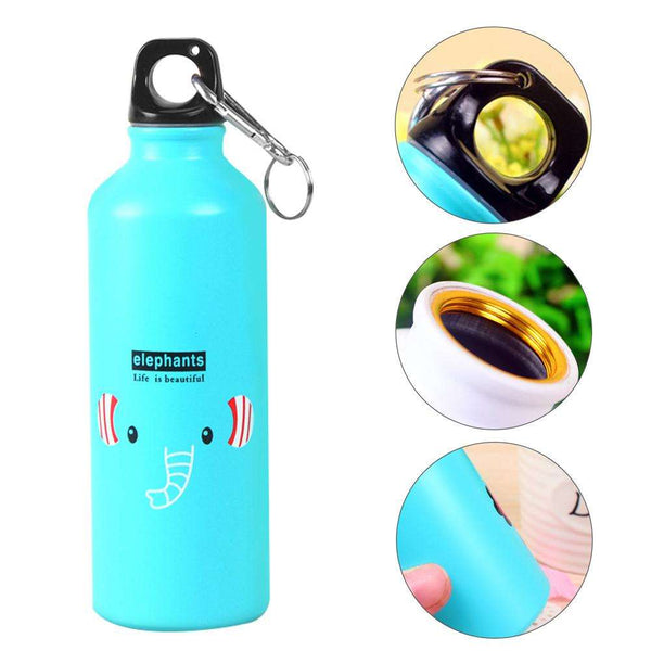 500ml Cartoon Animal Aluminum Portable Outdoor Travel Sport Running Water Bottle, Snapfitnessdeals, Other Accessories, 500ml-cartoon-animal-aluminum-portable-outdoor-travel-sport-running-wate
