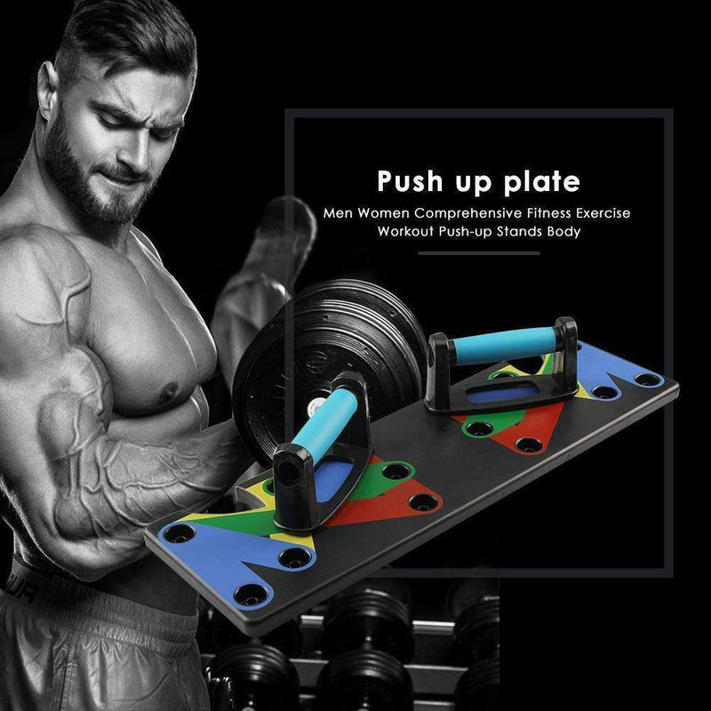 9 in 1 Push Up Rack Board, EcommBrands, , 9-in-1-push-up-rack-board, spo-default, spo-disabled