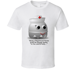 "•	""being A Register Nurse Gives Me Enough Money To Live Comfortably…."" T Shirt, Tshirtgang, T-Shirt, a-a-being-a-register-nurse-gives-me-enough-money-to-live-comfortablya-"
