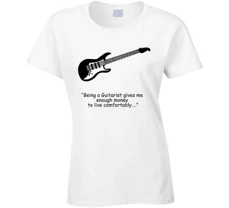 """being A Guitarist Gives Me Enough Money To Live Comfortably…."" T Shirt, Tshirtgang, T-Shirt, a-being-a-guitarist-gives-me-enough-money-to-live-comfortablya-a-t-shirt-1, a, bei"