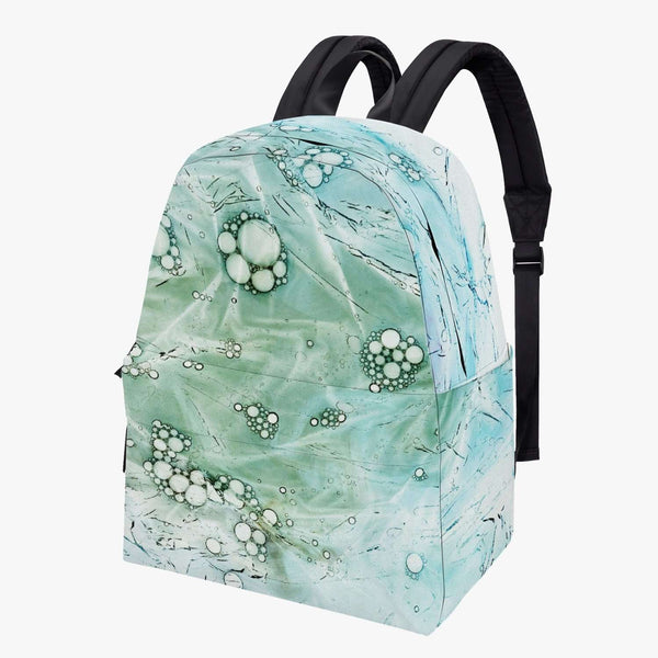 All-over-print Canvas Backpack-Green Pattern, Snapfitnessdeals, Backpacks, all-over-print-canvas-backpack-green-pattern, all over print, AOP, Backpack, Bag, Bags, canvas, canvas backpack, cot