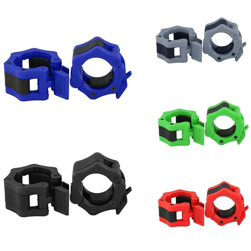 Barbell Collar Lock Clips Clamp Weight lifting Bar Gym Fitness Dumbbell Buckle, Snapfitnessdeals, Other Accessories, barbell-collar-lock-clips-clamp-weight-lifting-bar-gym-fitness-dumbbell-bu