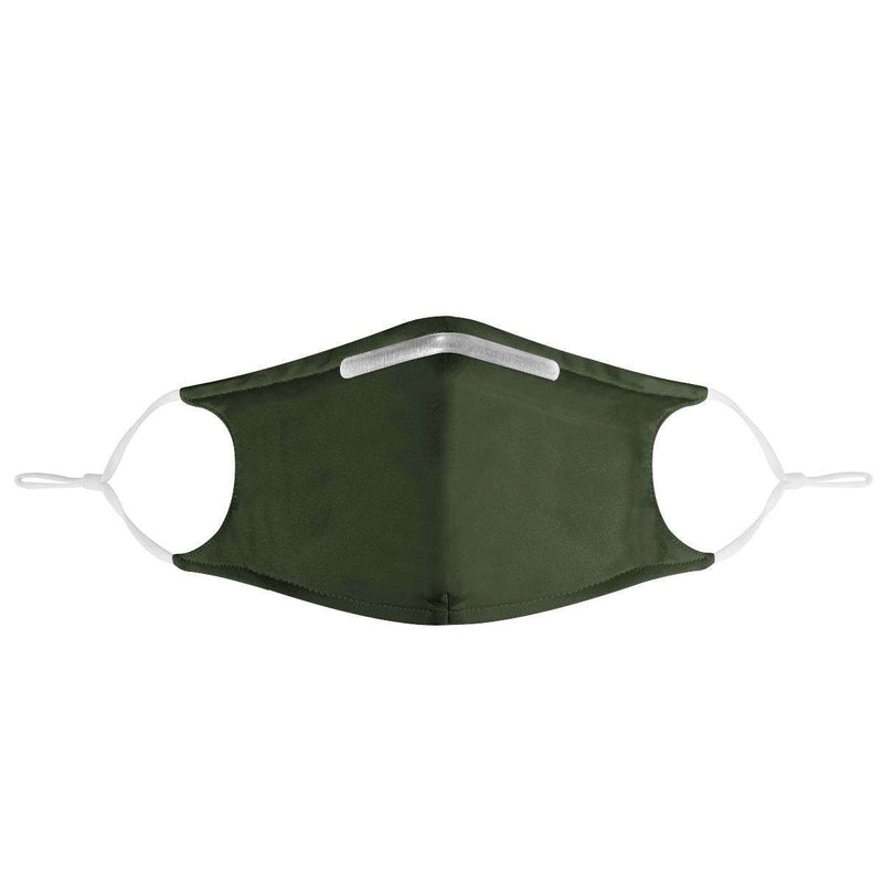 DARK GREEN -  MASK WITH (4) PM 2.5 CARBON FILTERS, Electric Styles, Accessories, dark-green-mask-with-4-pm-2-5-carbon-filters-1, 'EcFreeDesign', Facemask, Mask, spo-default, spo-disabled
