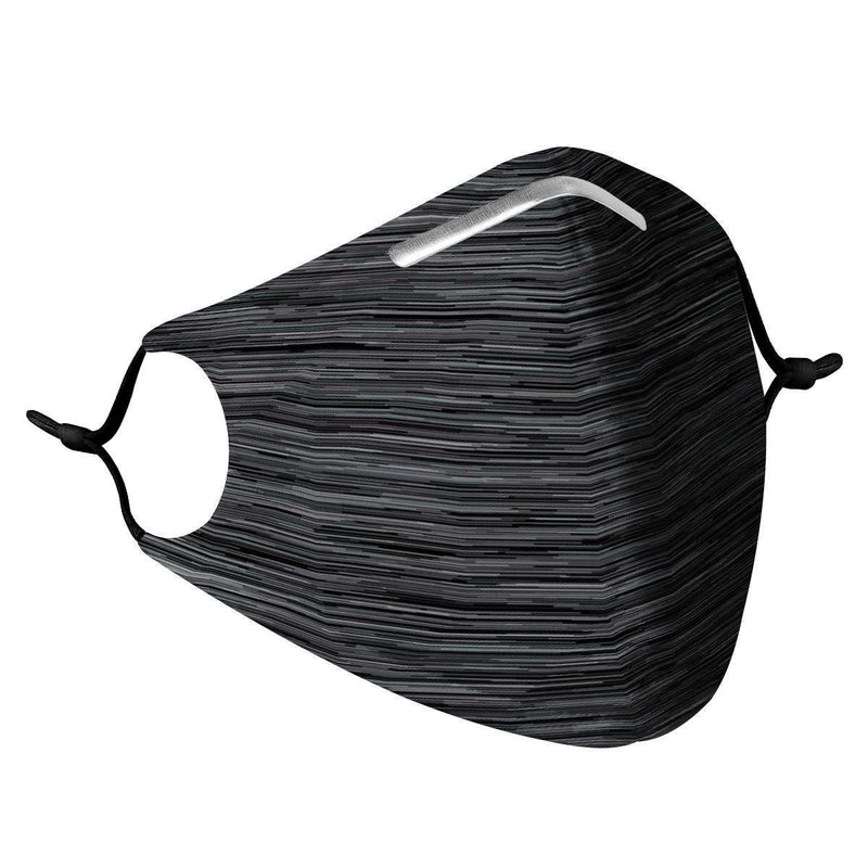 DARK HEATHER -  MASK WITH (4) PM 2.5 CARBON FILTERS, Electric Styles, Accessories, dark-heather-mask-with-4-pm-2-5-carbon-filters, 'EcFreeDesign', Facemask, Mask, spo-default, spo-disabled