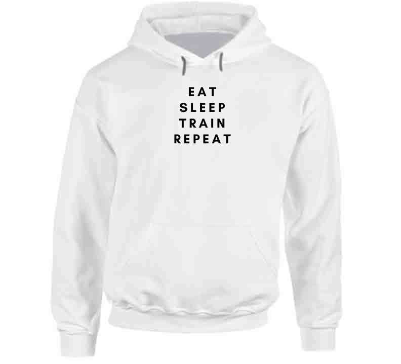 Eat Sleep Train Repeat Long Sleeve T Shirt, Tshirtgang, T-Shirt, eat-sleep-train-repeat-long-sleeve-t-shirt, eat, long, repeat, sleep, sleeve, spo-default, spo-disabled, sports, train