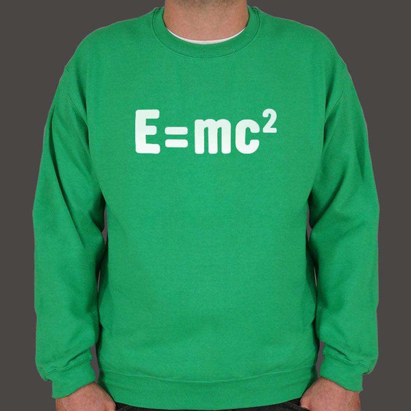 Einstein's Formula  Sweater (Mens), US Drop Ship, Sweatshirt, usds-6dtm-1798unisex, math, science, spo-default, spo-disabled, tank, tops