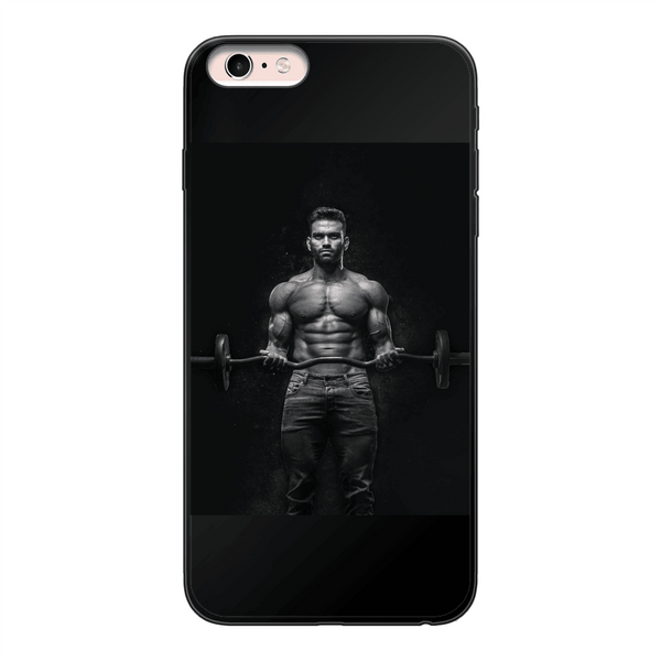 Fitness Back Printed Black Soft Phone Case, alloverprint.it, Accessories, fitness-back-printed-black-soft-phone-case-1, Accessories, spo-default, spo-disabled