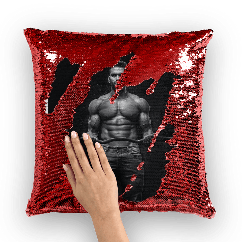 Fitness Sequin Cushion Cover, alloverprint.it, Homeware, fitness-sequin-cushion-cover-1, Homeware, spo-default, spo-disabled