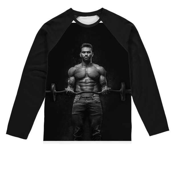 Fitness Sublimation Baseball Long Sleeve T-Shirt, alloverprint.it, Apparel, fitness-sublimation-baseball-long-sleeve-t-shirt, Apparel, spo-default, spo-disabled