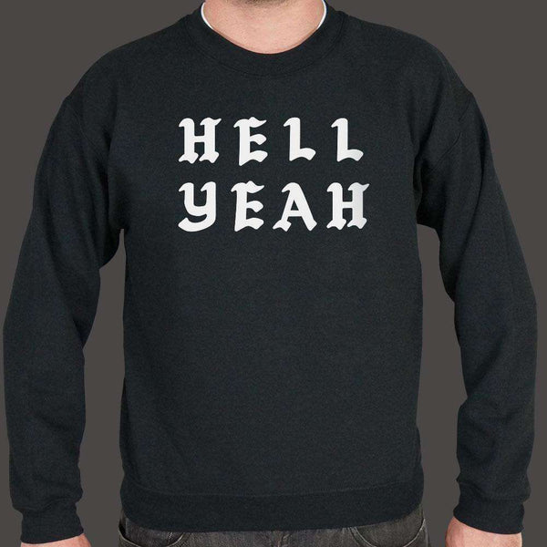 Hell Yeah Sweater (Mens), US Drop Ship, Sweatshirt, usds-6dtm-1807unisex, funny, spo-default, spo-disabled, tank, tops