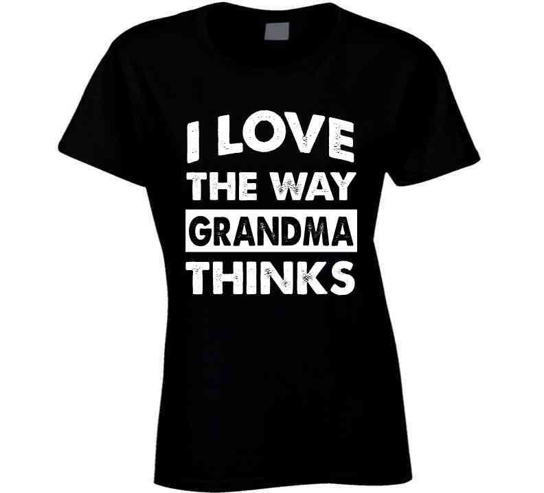 I Love The Way Grandma Thinks Baby One Piece, Tshirtgang, T-Shirt, i-love-the-way-grandma-thinks-baby-one-piece, baby, grandma, love, one, piece, spo-default, spo-disabled, thinks, various, w