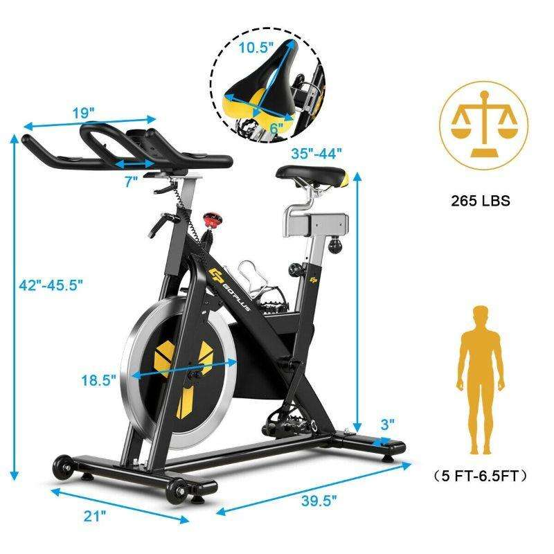 Magnetic Exercise Indoor Stationary Cycling Bike, MerchMixer, Fitness and Wellness, magnetic-exercise-indoor-stationary-cycling-bike, spo-default, spo-disabled