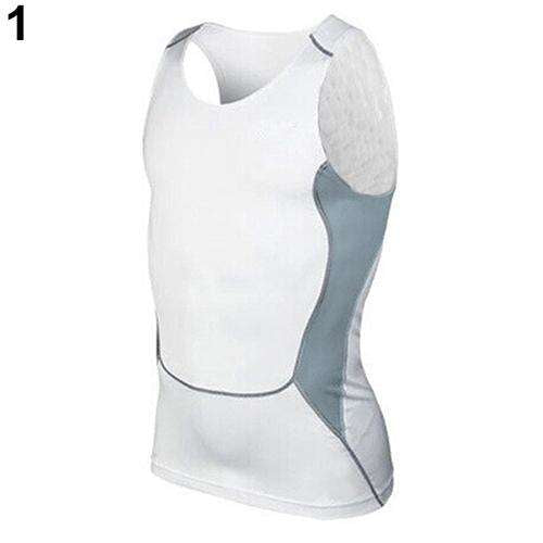 Men's Compression Sleeveless Sports Tight Shirts Gym Base Layer Vest Tank Top, Snapfitnessdeals, Vests, mens-compression-sleeveless-sports-tight-shirts-gym-base-layer-vest-tank-top, compressi