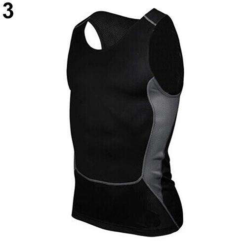 Men's Compression Sleeveless Sports Tight Shirts Gym Base Layer Vest Tank Top, Snapfitnessdeals, Vests, mens-compression-sleeveless-sports-tight-shirts-gym-base-layer-vest-tank-top-1, compres