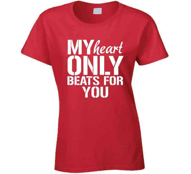 My Heart Only Beats For You Hoodie, Tshirtgang, T-Shirt, my-heart-only-beats-for-you-hoodie, beats, for, heart, hoodie, my, only, spo-default, spo-disabled, various, you