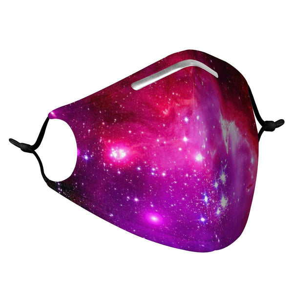 NEBULA -  MASK WITH (4) PM 2.5 CARBON FILTERS, Electric Styles, Accessories, nebula-mask-with-4-pm-2-5-carbon-filters, 'EcFreeDesign', Facemask, Mask, spo-default, spo-disabled