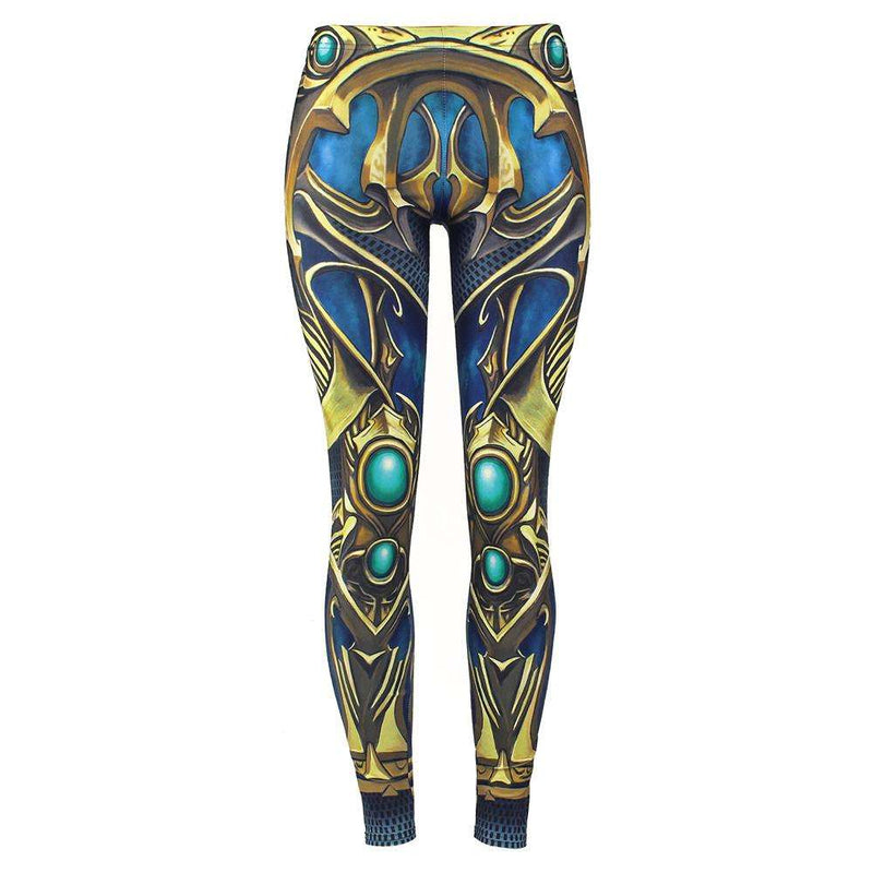 New Arrival 2018 Leggings Women Armor Digital Print Sapphire Metal P[lus Size Fitness Leggins Workout Pants Legging, eprolo, , nadanbao-new-arrival-2018-leggings-women-armor-digital-print-sap