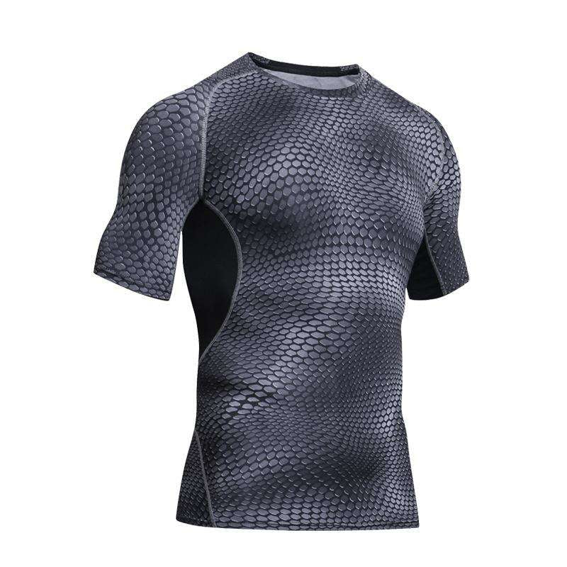 Outdoor Sports Camping Hiking Serpentine T-shirt Tactical Short Sleeve T-shirt Men Quick-drying Sweat Fitness Tights, eprolo, , outdoor-sports-camping-hiking-serpentine-t-shirt-tactical-short