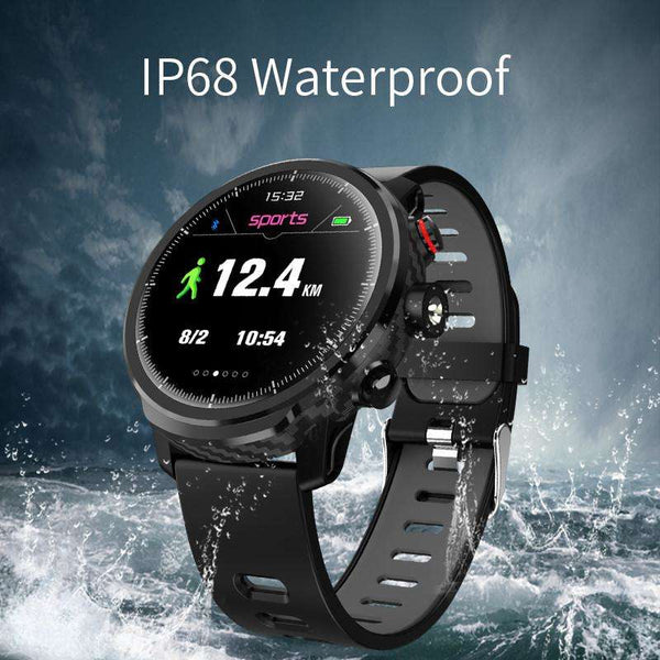 Smart Watch IP68 Waterproof Men Smart Watch Bluetooth Android Wristband Call Reminder Heart Rate Pedometer Bracelet, Snapfitnessdeals, Smart Watches, smart-watch-ip68-waterproof-men-smart-wat