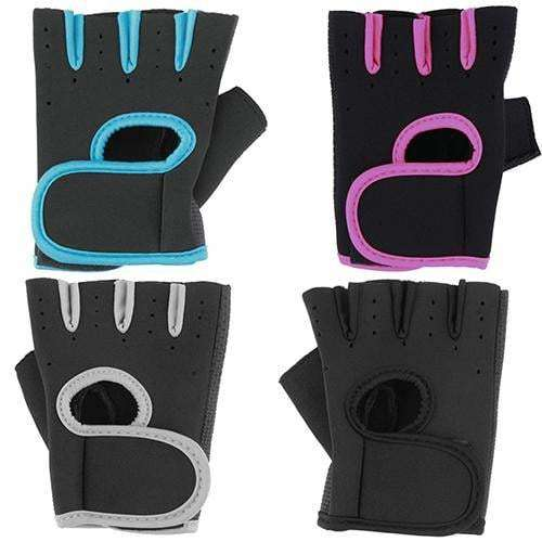 Sport Fitness Cycling Gym Weightlifting Half Finger Gloves Exercise Training Glove, Snapfitnessdeals, Bicycle Accessories & Decoration, sport-fitness-cycling-gym-weightlifting-half-finger-glo