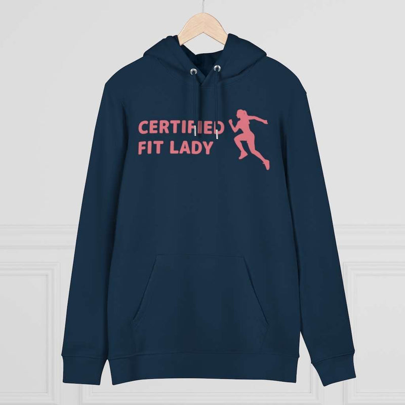 Unisex Cruiser Hoodie-certified fit lady, Printify, Hoodie, unisex-cruiser-hoodie-certified-fit-lady, certified fit lady hoodies, certified fit lady sweater, clothing, DTG, Eco-friendly, fitn