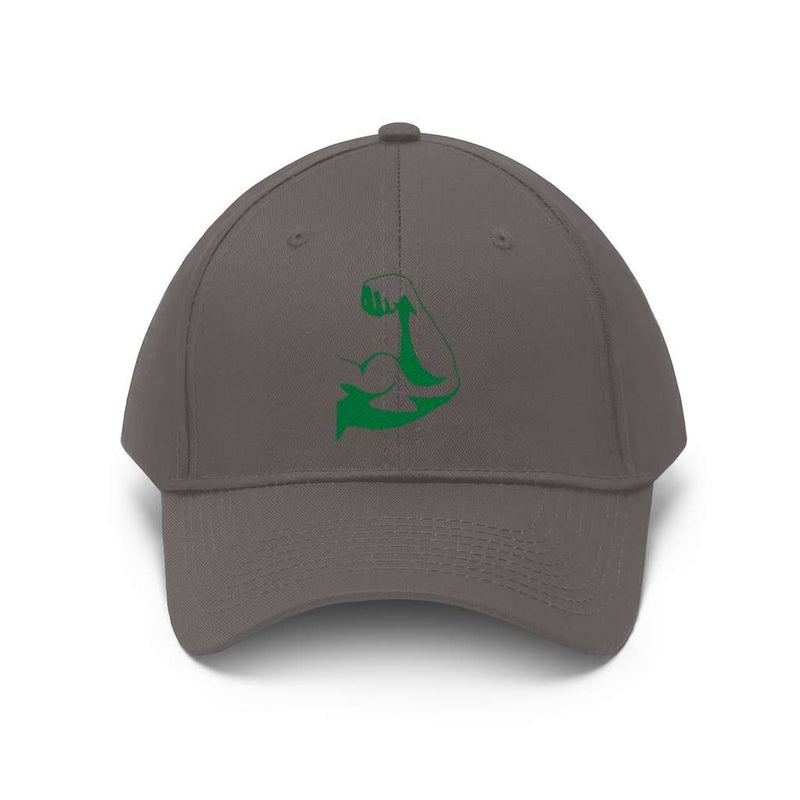 Unisex Twill Hat-Strong arm, Printify, Hats, unisex-twill-hat-3, Accessories, custom hats, customized hats, Embroidery, Fall Bestsellers, gym hats, Hats, hats and caps, hats clipart, hats des