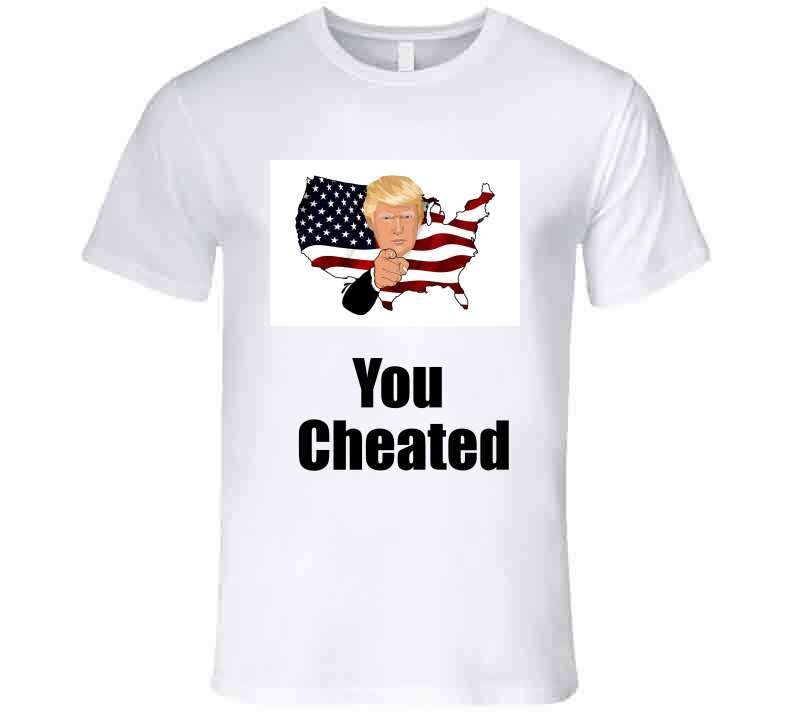 You Cheated Hoodie, Tshirtgang, T-Shirt, you-cheated-hoodie, cheated, hoodie, political, spo-default, spo-disabled, you