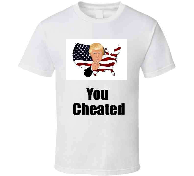 You Cheated Long Sleeve T Shirt, Tshirtgang, T-Shirt, you-cheated-long-sleeve-t-shirt, cheated, long, political, sleeve, spo-default, spo-disabled, you