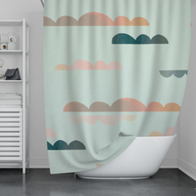 Load image into Gallery viewer, Cloudy Shower Curtain