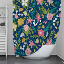 Load image into Gallery viewer, Evening Bloom Shower Curtain