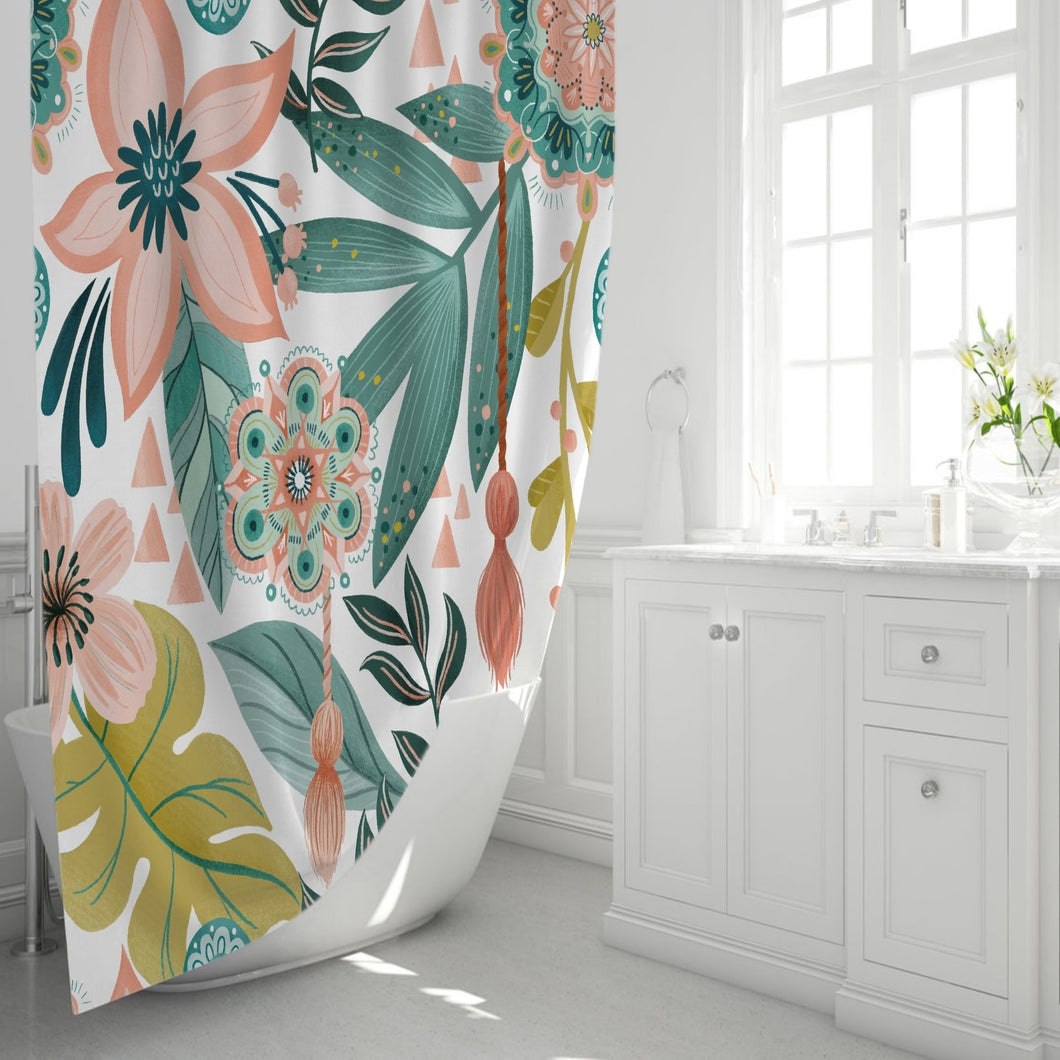 Summer Bliss Shower Curtain