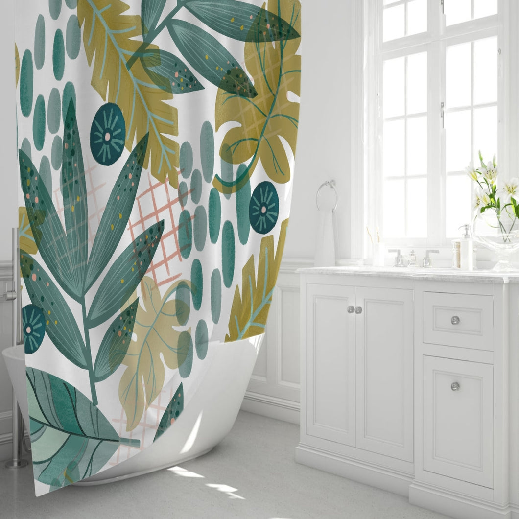 Wistful Meadow Shower Curtain