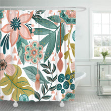 Load image into Gallery viewer, Summer Bliss Shower Curtain