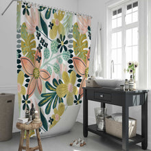 Load image into Gallery viewer, Tropical Paradise Shower Curtain