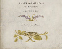 Art of Botanical Perfume Two Day Workshop and Online Course