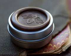 Orchid Bee Solid Perfume in Round Mega-Tin