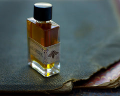 Aumbre Liquid Natural Perfume - 4 grams in rectangular bottle